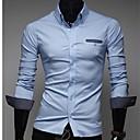 Muška Dots Slim Long Sleeve Shirt