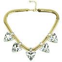 Canlyn Dámská móda Snake Chain S Gem krátký náhrdelník
