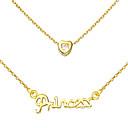 Vintage střapec Dámská Slivery Alloy náhrdelník (1 ks) (zlato, stříbro, Champagne)