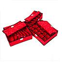 Skladovací krabice Netkané s 20L , vlastnost je S víčkem , Pro Spodní prádlo