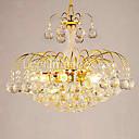 V evropském stylu luxusní 3 světla lustr s křišťálové koule