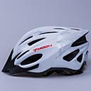MOON Cyklistika Silver PC / EPS 21 Vents Světelný Varování Cyklistická přilba