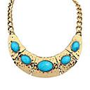 Ženska Europska Etnički Vintage perlama Arc Alloy Bib Statement ogrlica (više boja) (1 kom)