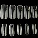 10x10pcs mixs veličina transparentne puna nail art savjeti