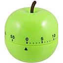 "Apple Shaped Mehanički Kuhinja Timer, plastični 2,4 ""X2.4"" x4 """