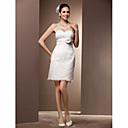 Lanting Bride® Kroj uz tijelo Veći brojevi / Sitna Vjenčanica - Šik i moderno / Elegantno i luksuzno / Za prijem Male bijele vjenčanice