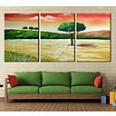 Rastegnut Canvas Art Quiet Treel Set od 3