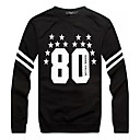 Men's Lapel Fashion Long Sleeve Personality Cultivation Hoodie