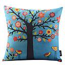 lijepo stablo pamuka / lana dekorativni jastuk pokriti
