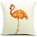 Suvremeni umjetnički ptica pamuk / lan dekorativni jastuk pokriti