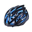 měsíc 25 otvory PC + eps integrálně tvarovaný černý cyklistickou helmu (56 až 62 cm)