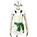 Inspirirana Ljubav uživo Rin Hoshizora Anime Cosplay Kostimi Cosplay Suits Kolaž Bijela Kratki rukavHaljina / Headpiece / Pregača / Pojas
