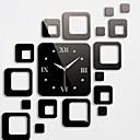 zidni sat naljepnice zidne naljepnice, modni kvadrata zrcale akrilnih zidne naljepnice