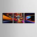 キャンバスプリントアート抽象ハイウェイ3個セット