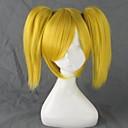 コスプレウィッグ Vocaloid 鏡音リン ゴールド ショート アニメ系 コスプレウィッグ 35 CM 耐熱繊維 女性用