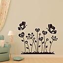 samolepky na zeď Lepicí obrazy na stěnu, rodina květina motýl bytové dekorace PVC samolepky na zeď