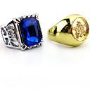 Jewelry Inspirirana Crna Butler Ciel Phantomhive Anime Cosplay Pribor prsten Zlatna Artificial Gemstones Male