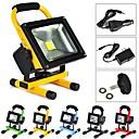 10W LED halogeny 1 High Power LED 1000 lm Chladná bílá Dobíjecí AC 100-240 V