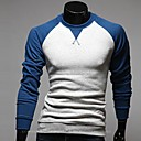 ruilike® pánské kolo límec ležérní kontrastní barvě košile
