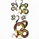 vodootporan zmija privremeni tattoo naljepnica tetovaže uzorak kalup za body art (18.5cm * 8.5cm)