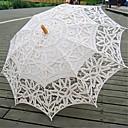 結婚式 コットン 傘 ハンドル ポスト 26.8inch (約68cm) ウッド 30.7inch (約78cm)