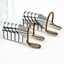 5ks k opakovanému použití stříbrné nail art chrániče formy tipy akrylové / tipy uv gel
