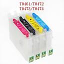 bloom® t0461 / t0472 / t0473 / t0474 punjive spremnika s tintom za Epson Stylus c63 / C65 / c83 / c85 / cx6300 / cx6500 (4 boje 1set)