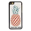 osobní telefon pouzdro - ananas konstrukce kovové pouzdro pro iPhone 5c