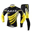 FJQXZ® Biciklistička majica s tajicama Muškarci Dugi rukav Bicikl Prozračnost / Quick dry / Ultraviolet ResistantBiciklistička majica /