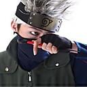 に触発さ NARUTO -ナルト- Hatake Kakashi アニメ系 コスプレ衣装 マスク パッチワーク ブラック / ブルー マスク