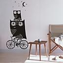 samolepky na zeď na stěnu, bytové dekorace Sova pohádka školka PVC nástěnné nástěnné samolepky