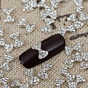 10pcs Bling sja kristalno luk rhinestone bowknot noktima legura nakit sjajni manikura Jewellry