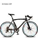Cestovni bicikli Biciklizam 7 Brzina 26 inča/700CC 60mm Uniseks / Muškarci / Ženski SHIMANO TX30 Dvostruka disk kočnica Običan Monocoque