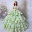Party & Večer Haljine Za Barbie lutka Svijetlo zelena Haljine