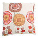 """createforlife® 18 """"retro slikovna suncokreti pamučna posteljina kvadrat ukrasne jastuk"""