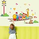 samolepky na zeď na stěnu, kreslený děti trénovat pvc samolepky na zeď