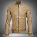 muške mode baseball ovratnik kratka stavka kožna jakna