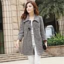 luotu® dámské nový módní dlouhé vlněné kabáty