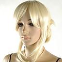 dámské výborný lehký blondýna cosplay paruka s bočním třesku