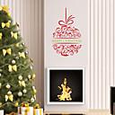 jiubai® vánoční zeď nálepka Lepicí obraz na stěnu