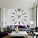 2015 nový domov výzdoba velké digitální hodiny na zeď moderní design velké dekorativní nástěnné hodiny Hodinky Nástěnné hodiny jedinečný dárek