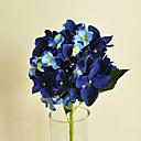 Sapphire hyfrangeas umjetnog cvijeća postavljena 2