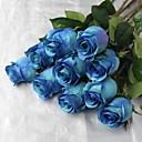 """28,7 """"jedna glava svila umjetna plava ruža s drače"""
