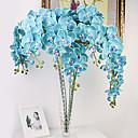 """40 """"dlouhý textilní motýlek ochird sada 10 modré barvy"""