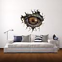 3D zidne naljepnice zidne naljepnice, Monster očiju dekor vinil zidne naljepnice