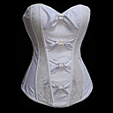 bijeli tiskani Sotona klasična Lolita cosret žena seksi korzet veličine S-2XL