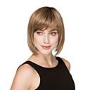Nový dost vysoko kvalitní capless krátké rovné mono top lidské vlasy, paruky