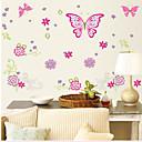 samolepky na zeď na stěnu, motýli pvc nástěnné samolepky
