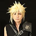 angelaicos muži cloud spor Final Fantasy VII zlatých chlapců krátké vrstvené prestyled Halloween kostým cosplay paruky