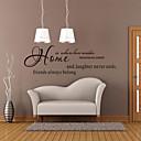 zidne naljepnice zidne naljepnice, stil naslovnica engleskih riječi&citati PVC zidne naljepnice